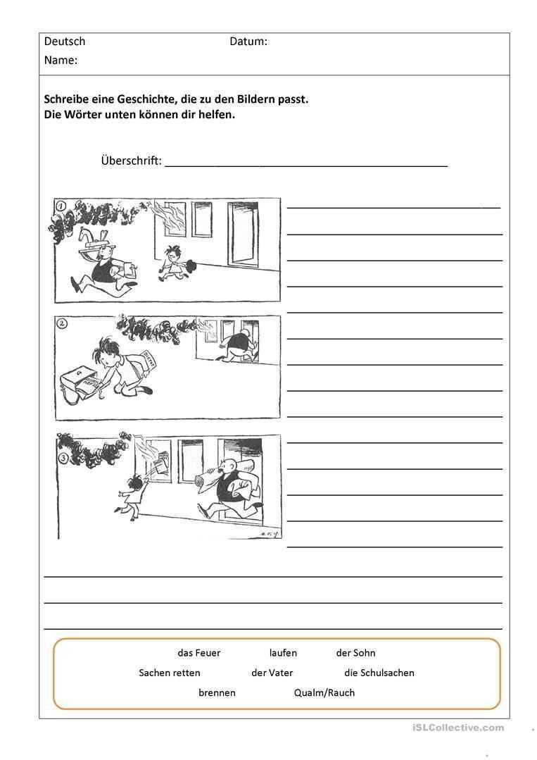 Bildergeschichten Mit Worthilfen Bildergeschichten Grundschule Bildergeschichte Unterricht Lesen