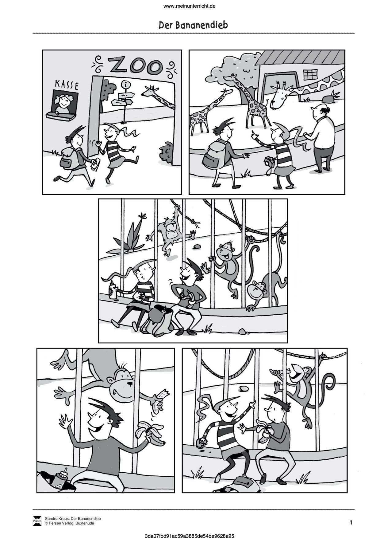 Vorschau Arbeitsblatt Meinunterricht Bildergeschichten Grundschule Bildergeschichte Arbeitsblatter Grundschule