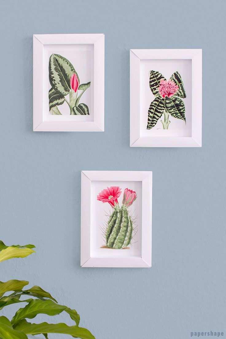 Paper Photo Frame Paper Photo Frame Diy Paper Crafts Diy Tutorials Paper Decorations Diy