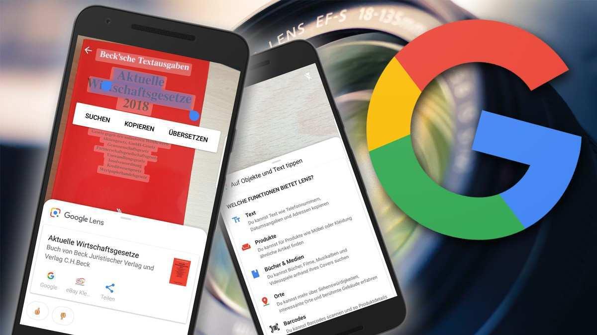 Bildersuche Auf Android Mit Google Lens Chip