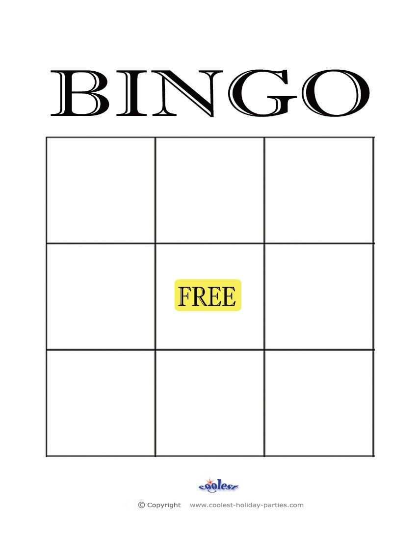 Bingo Template 1x1 Blank Five Quick Tips For Bingo Template 1x1 Blank Bingo Card Template Bingo Template Blank Bingo Cards