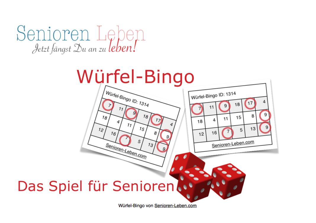 Wurfel Bingo Wurfelbingo Das Bingo Spiel Fur Senioren Zu Hause Und Im Seniorenheim Spiele Fur Senioren Bingo Spiele Bingo