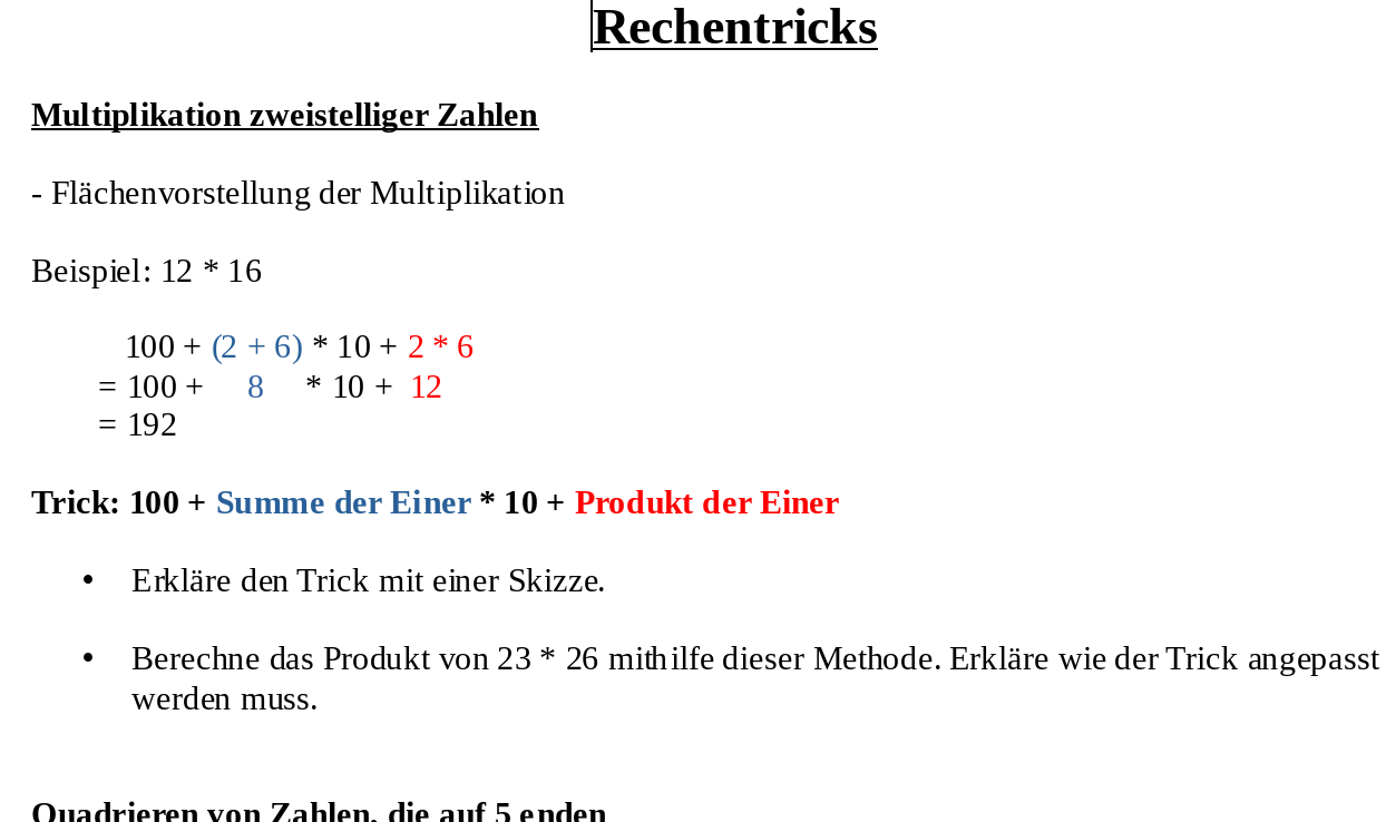 Rechentricks Unter Anderem Anwendung Binomische Formel Binomische Formeln Mathematik Multiplikation