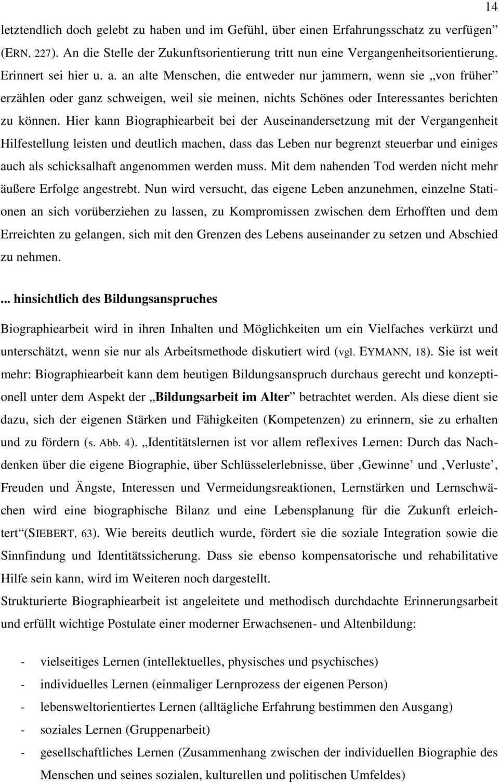 Aspekte Der Biographiearbeit In Der Altenpflege Pdf Free Download