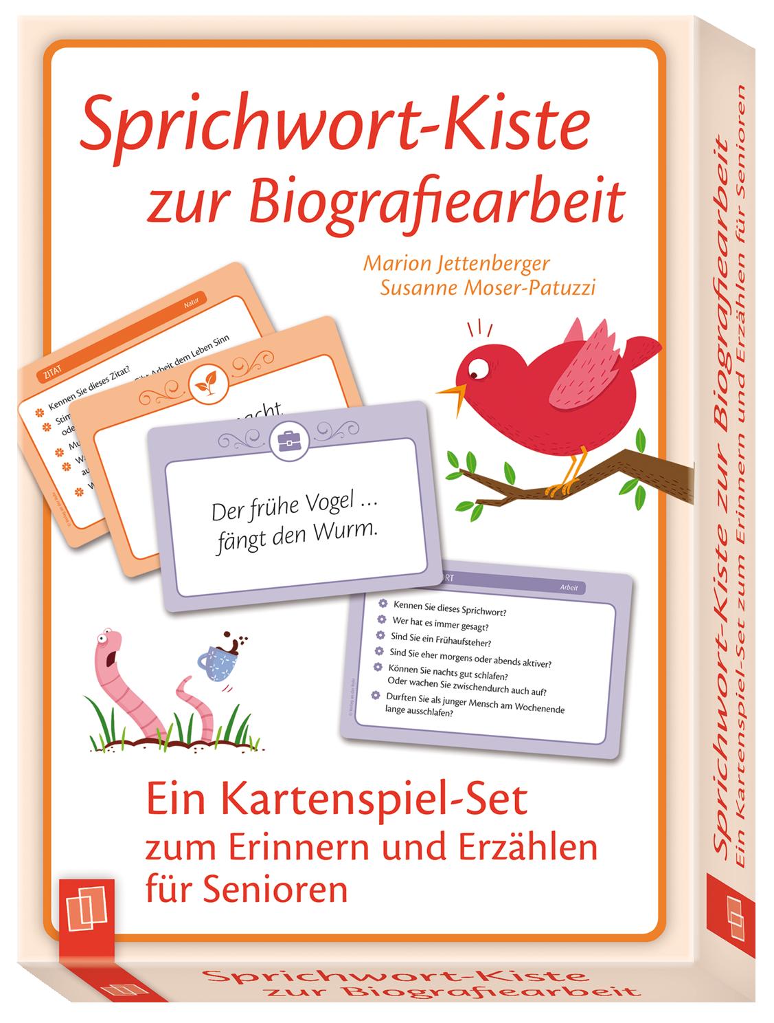 Sprichwort Kiste Zur Biografiearbeit Sprichworter Biografie Aktivitaten Fur Senioren