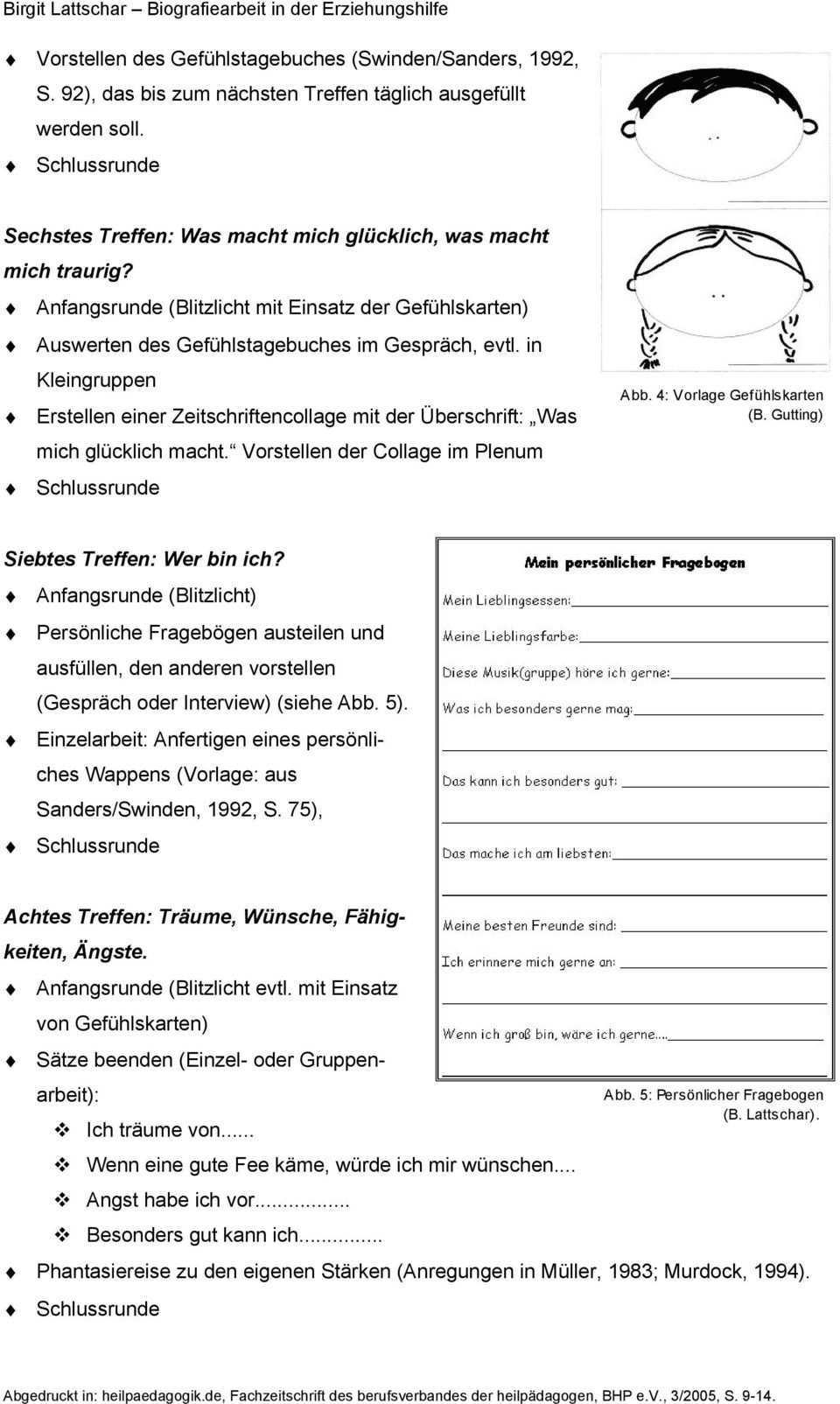 Biografiearbeit In Der Erziehungshilfe Pdf Kostenfreier Download