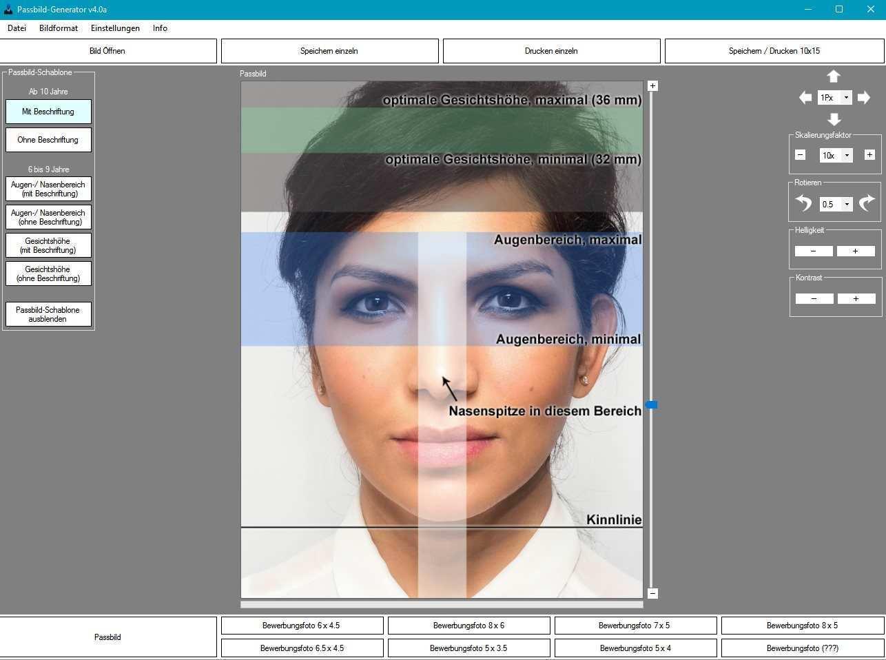 Biometrisches Passbild Selber Machen Billig Bei Rossman Dm Drucken