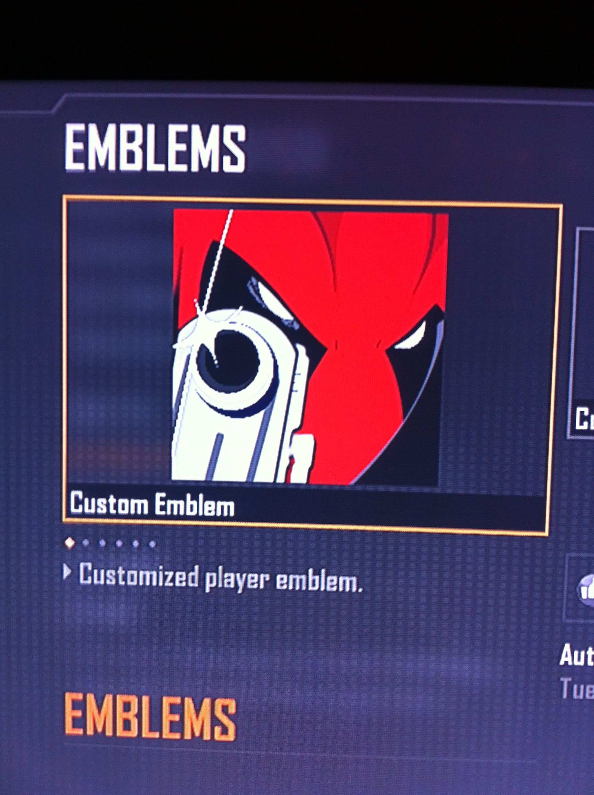 Deadpool Cod Black Ops 2 Emblem Black Ops Deadpool Emblems