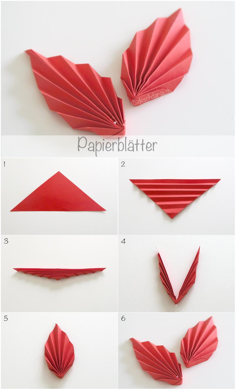 Blatter Aus Papier Falten Blumen Basteln Aus Papier Basteln Mit Papier Falten Papierblumen Basteln