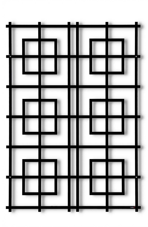 Das Marrakech Pflanzenspalier Von Flora Erinnert An Eine Orientalische Wand Dabei Harmoniert Die Symmetrie Perfekt Mit Dem Rob Verzinktes Blech Flora Pflanzen