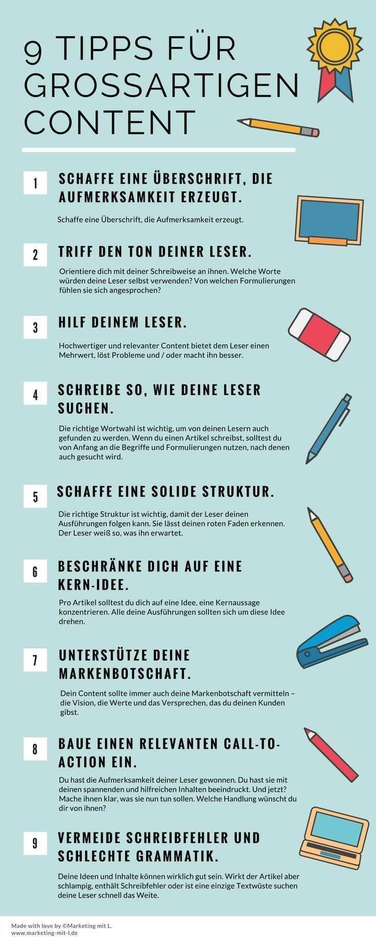 Effektiver Schreiben 9 Tipps Fur Grossartigen Content Tipps Schreibtipps Schreiben