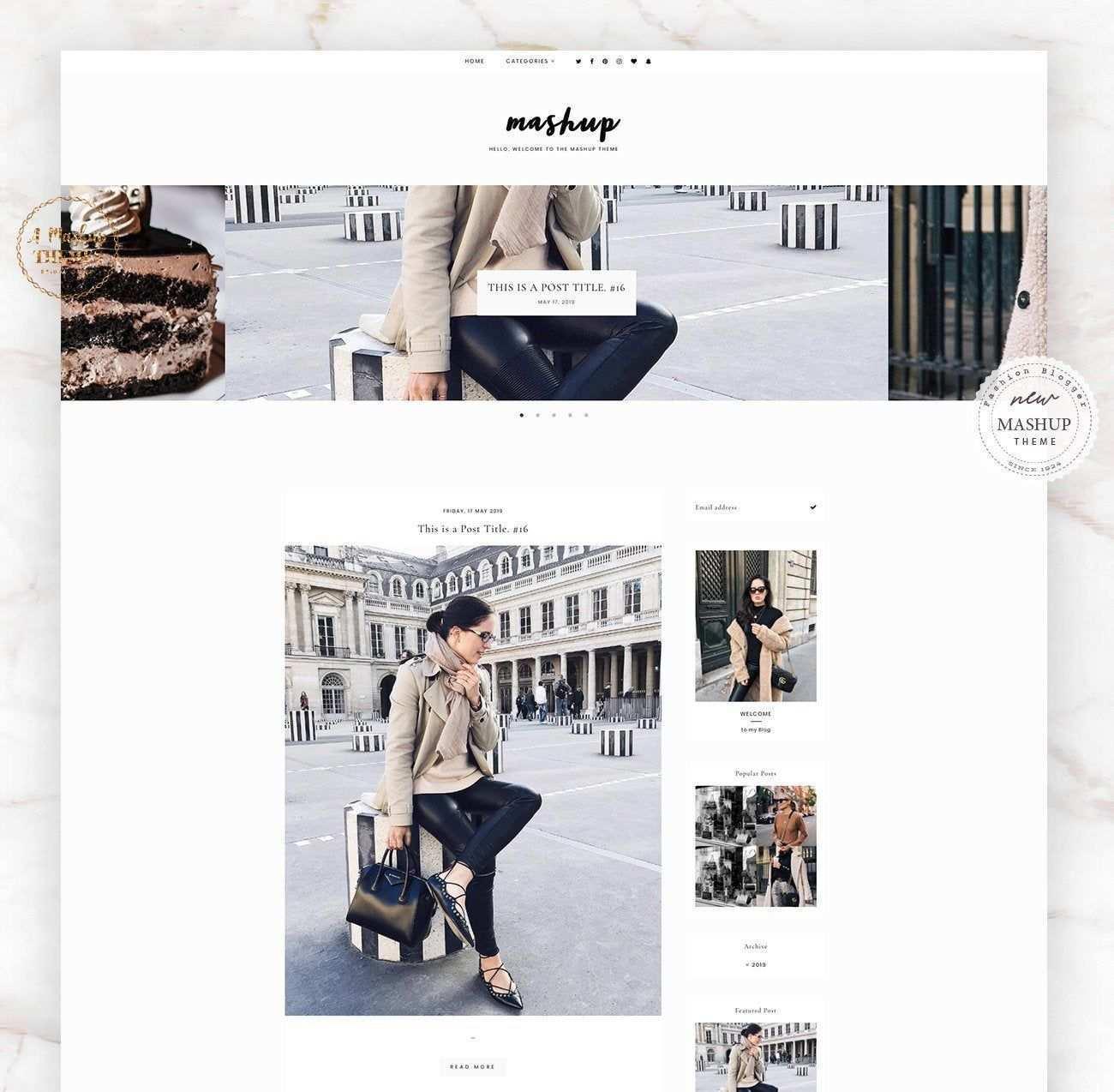 Updated Mash Theme Blogger Template Responsive Design Custom Blogger Design Responsive Blogger Template Blogger Theme Blogspot Template Mit Bildern Vorlagen Thema Web Design