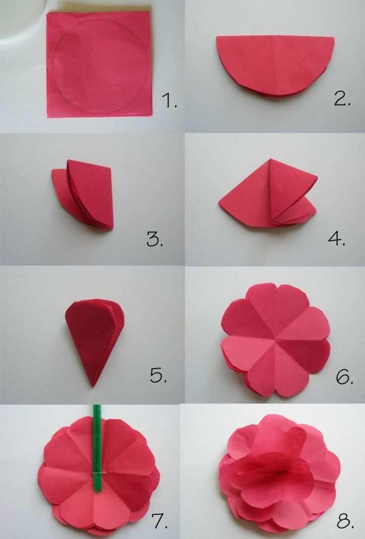 Papierblumen Basteln Mit Kindern Schone Ideen Und Bastelanleitungen Blumen Basteln Aus Papier Papierblumen Basteln Blumen Basteln Mit Kindern