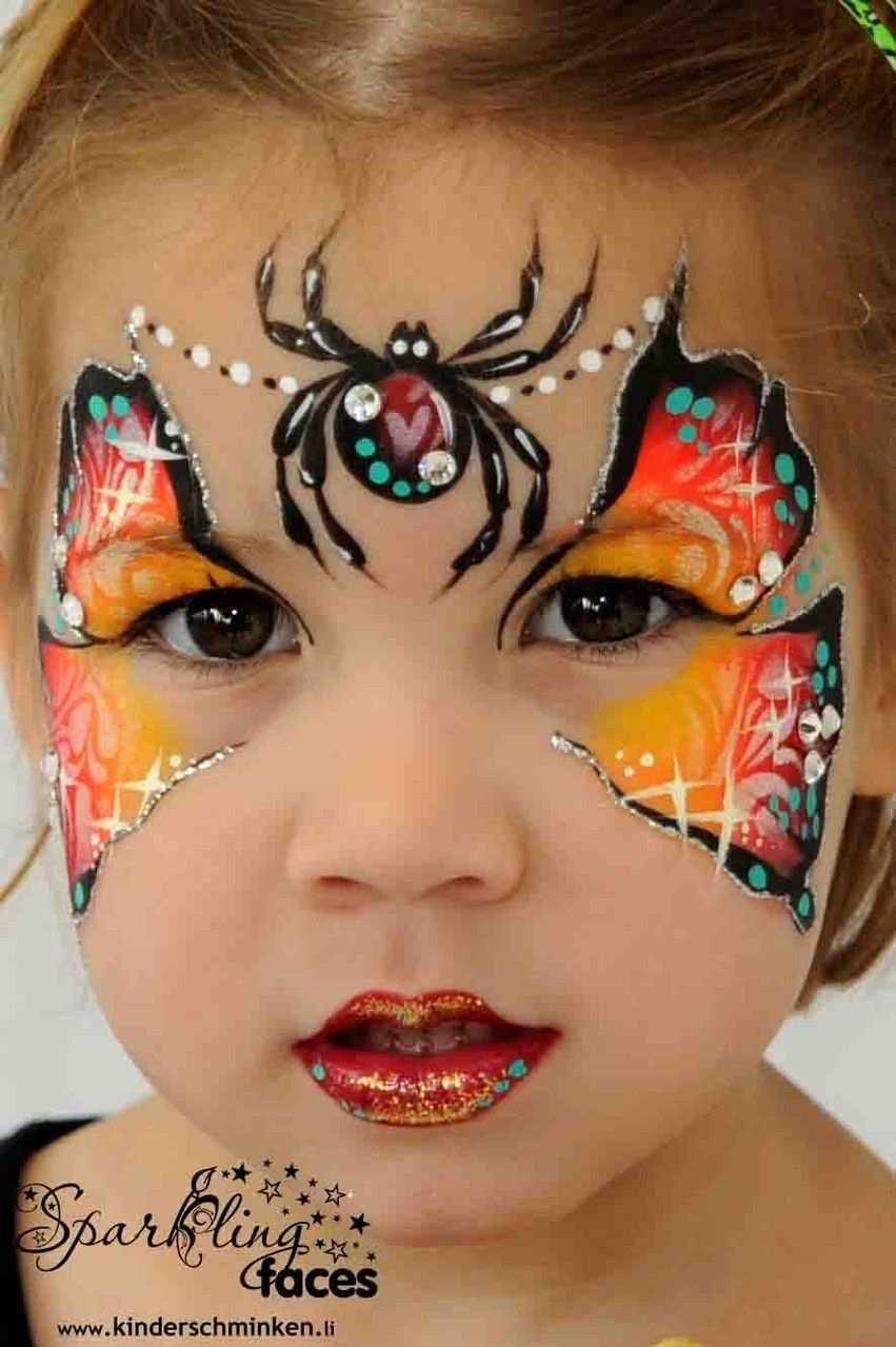 Galerie Sparkling Faces Kinderschminken Farbenverkauf Kurse Pinturas Faciais Pintura De Rosto Pinturas Faciais Infantis