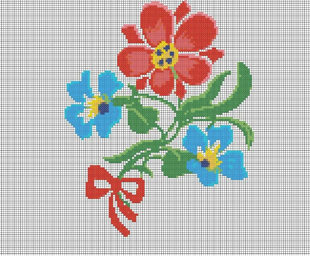 Pin Von Lea Auf Sticken Nahen Sticken Vorlagen Blumen