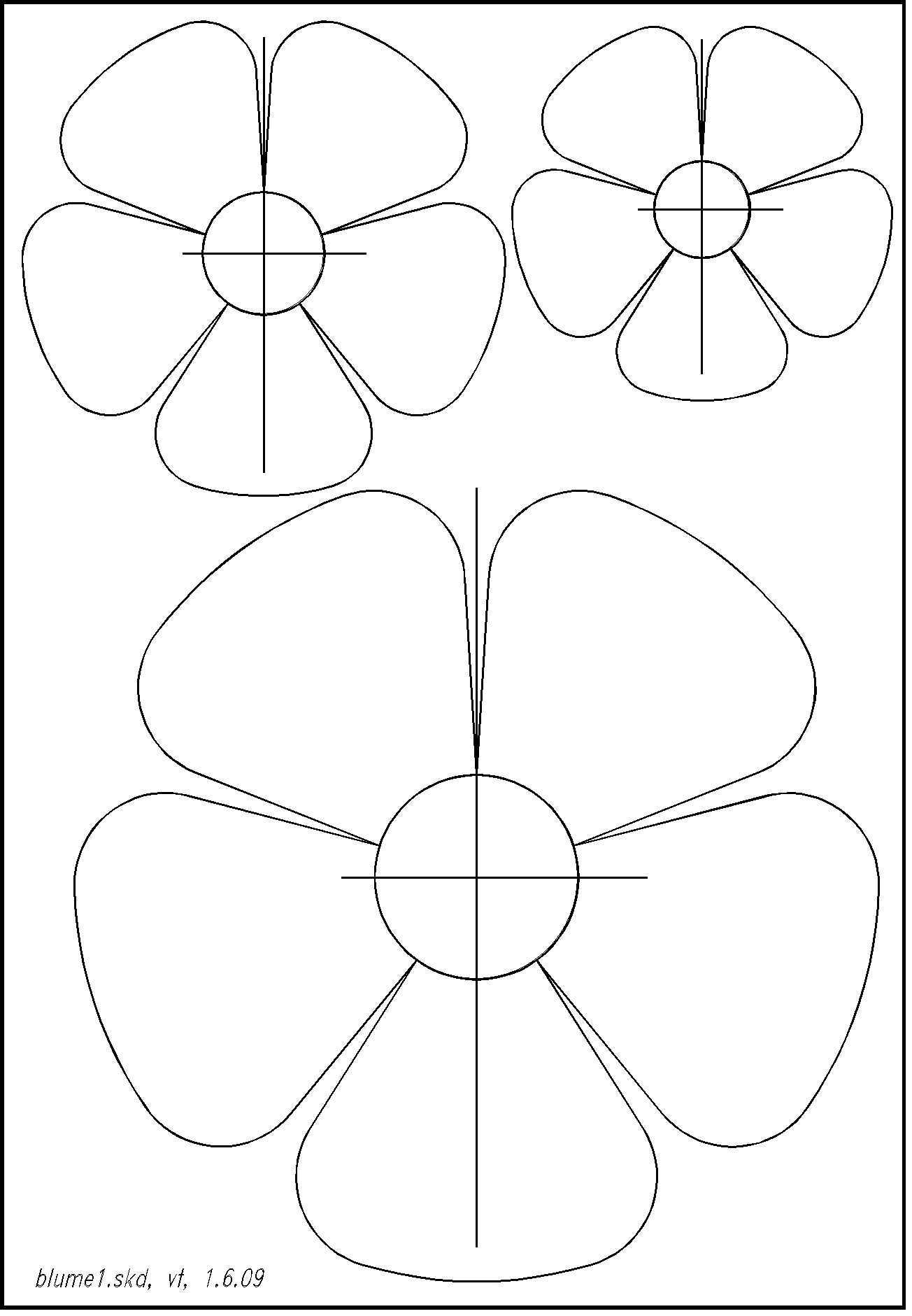 Pin Von Only Coloring Pages Auf Paper Craft Vorlagen Blumen Basteln Blumen Basteln Blumen Schablone