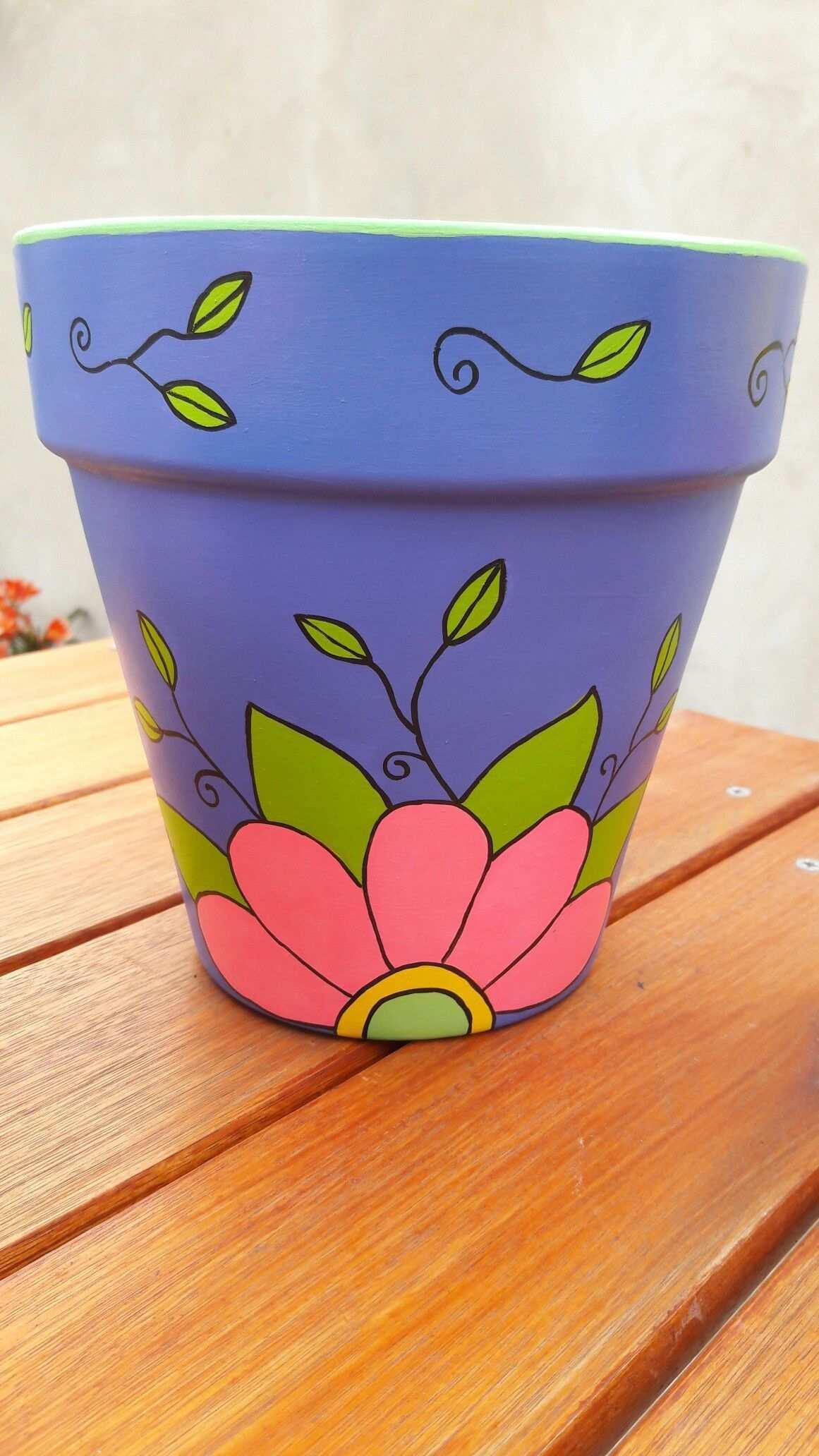 Pin Von Bonnie Gritsch Auf Blumentopf In 2020 Dekorierte Blumentopfe Blumentopfe Streichen Kleine Blumentopfe