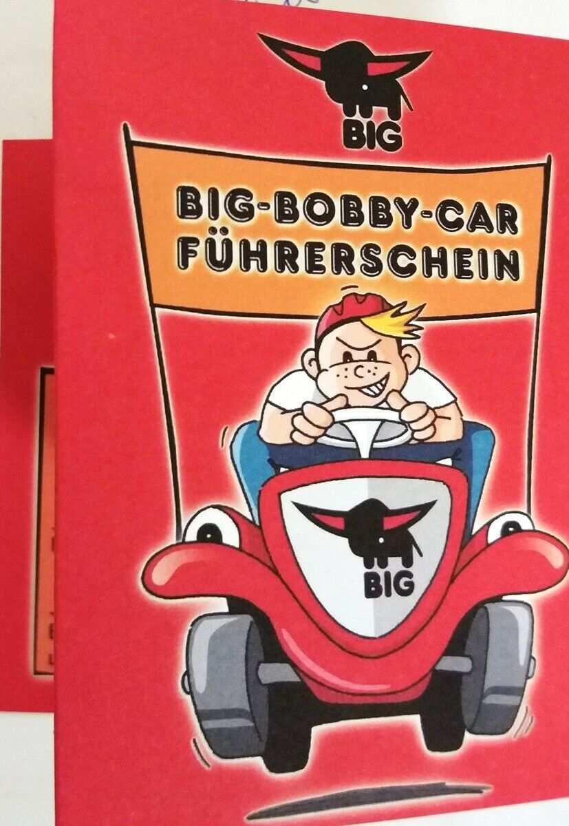 Big Bobby Car Fuhrerschein Eur 2 95 Picclick De