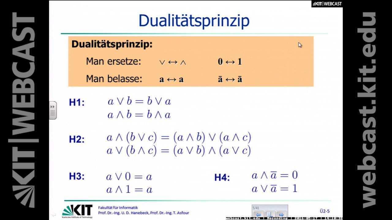 08 Ubung 2 Boolesche Algebra Boolesche Funktionen Bestimmung Der Normalformen Youtube