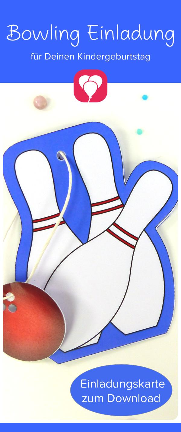 Bowling Karte Als Druckvorlage Fur Den Kindergeburtstag Balloonasshop Kindergeburtstag Mathematik Mit Lego Bowling