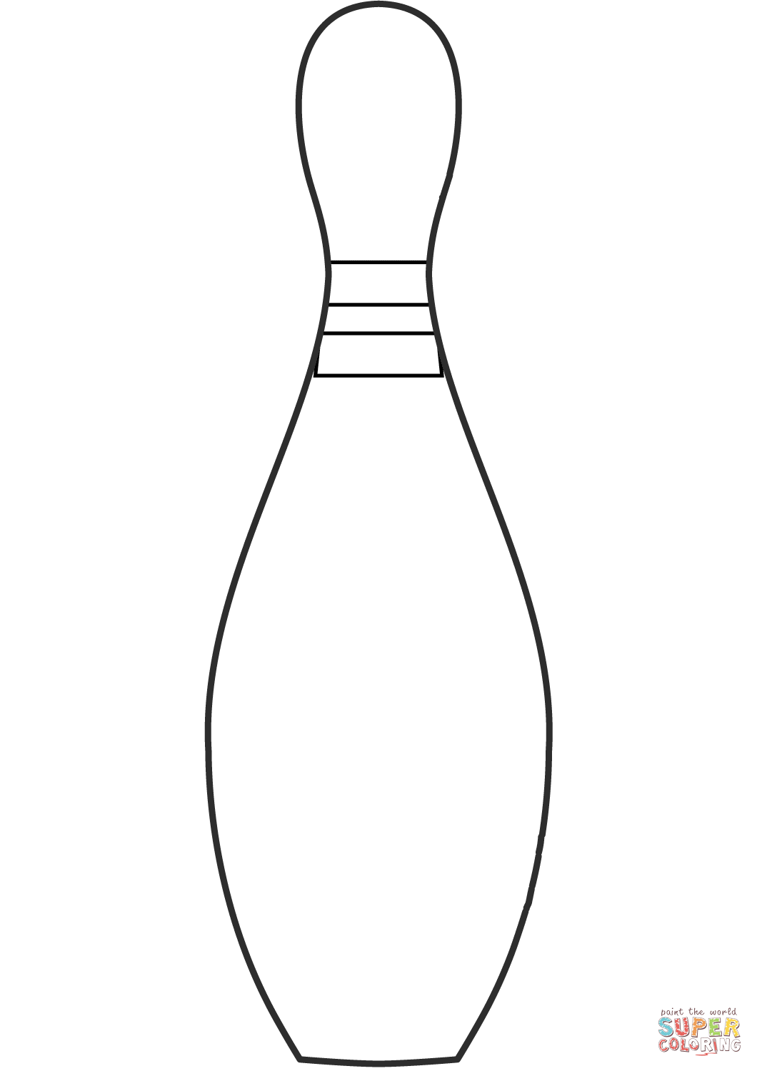 Bowling Pin Coloring Page Free Printable Coloring Pages Bowling Pins Free Printable Coloring Free Printable Coloring Pages