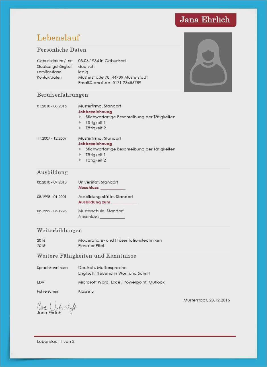 23 Neu Lebenslauf Vorlage 2017 Solche Konnen Anpassen In Ms Word In 2020 Lebenslauf Vorlagen Lebenslauf Vorlage Lebenslauf Kostenlos