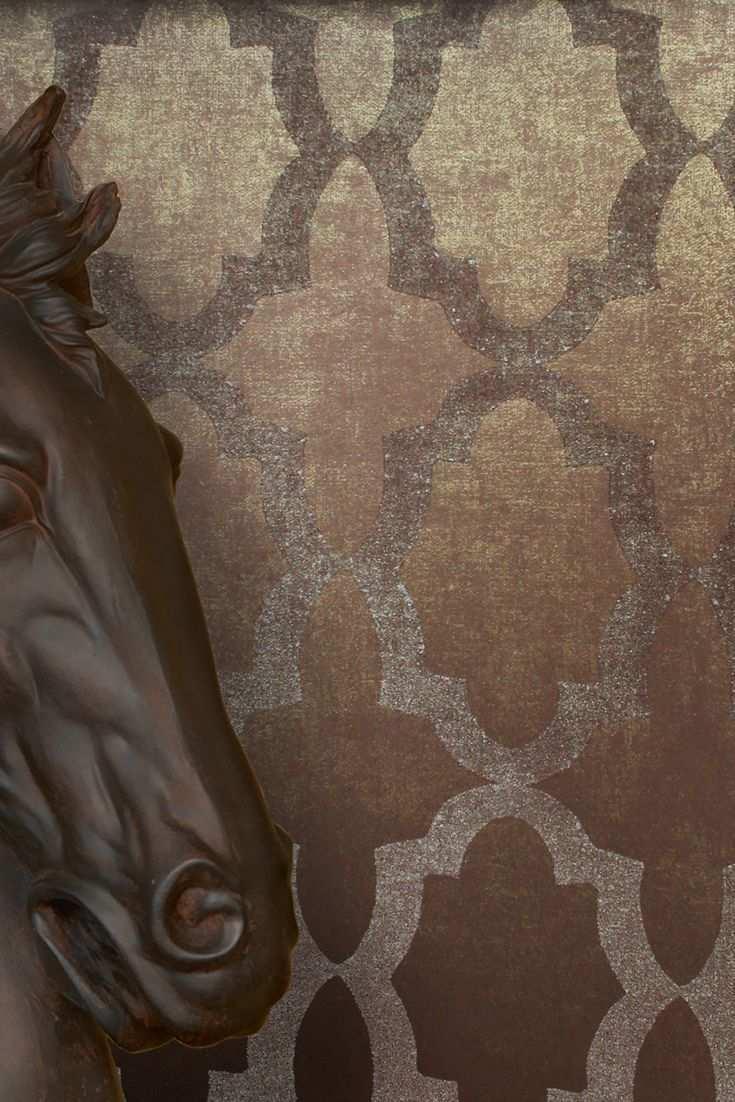 Tapete Goldencut Braun Aus Der Sahara Kollektion Tapeten Grundfarben Braun Werden