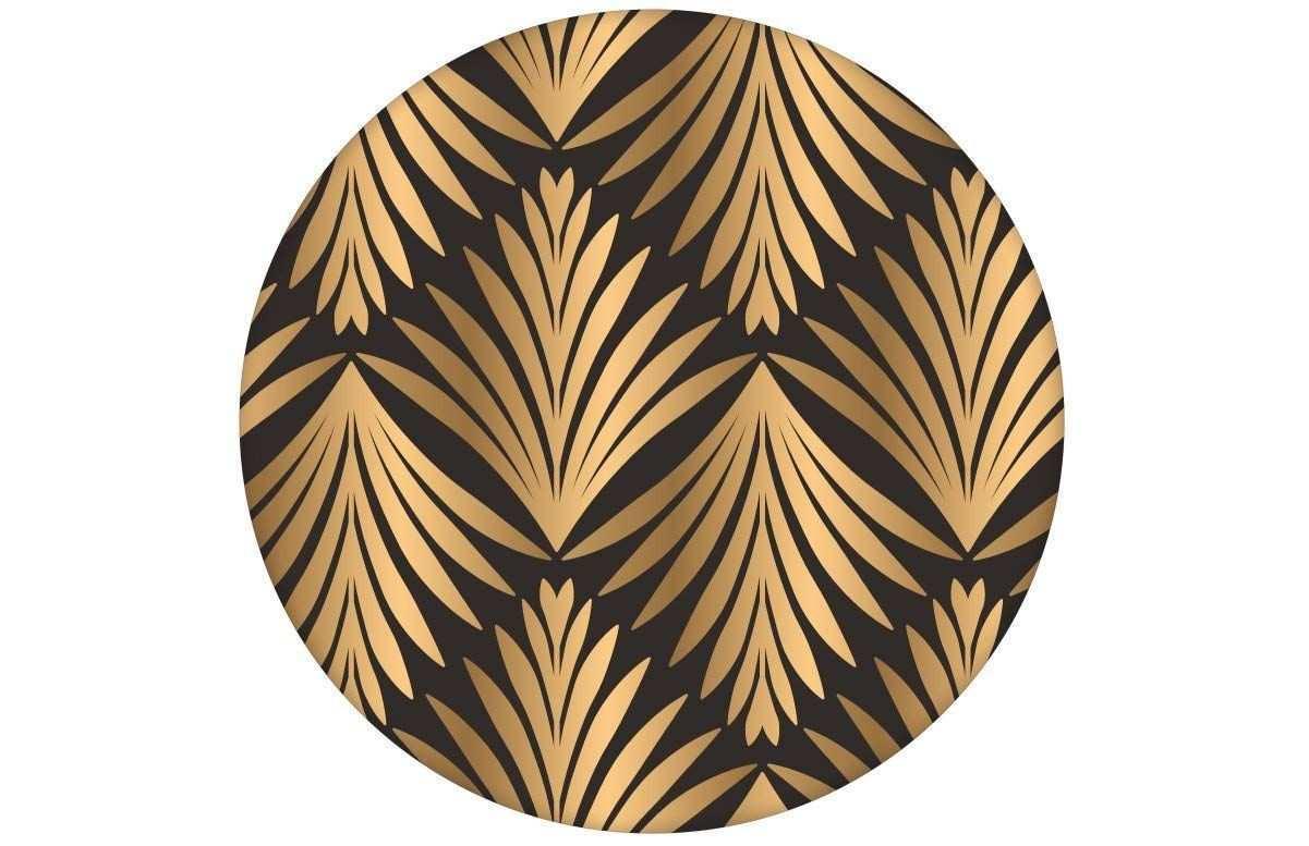 Elegante Braune Klassische Tapete Art Deco Akanthus Mit Blatt Muster Angepasst An Little Greene Wandfarben Vli Design Tapeten Klassische Tapete Wandtapete
