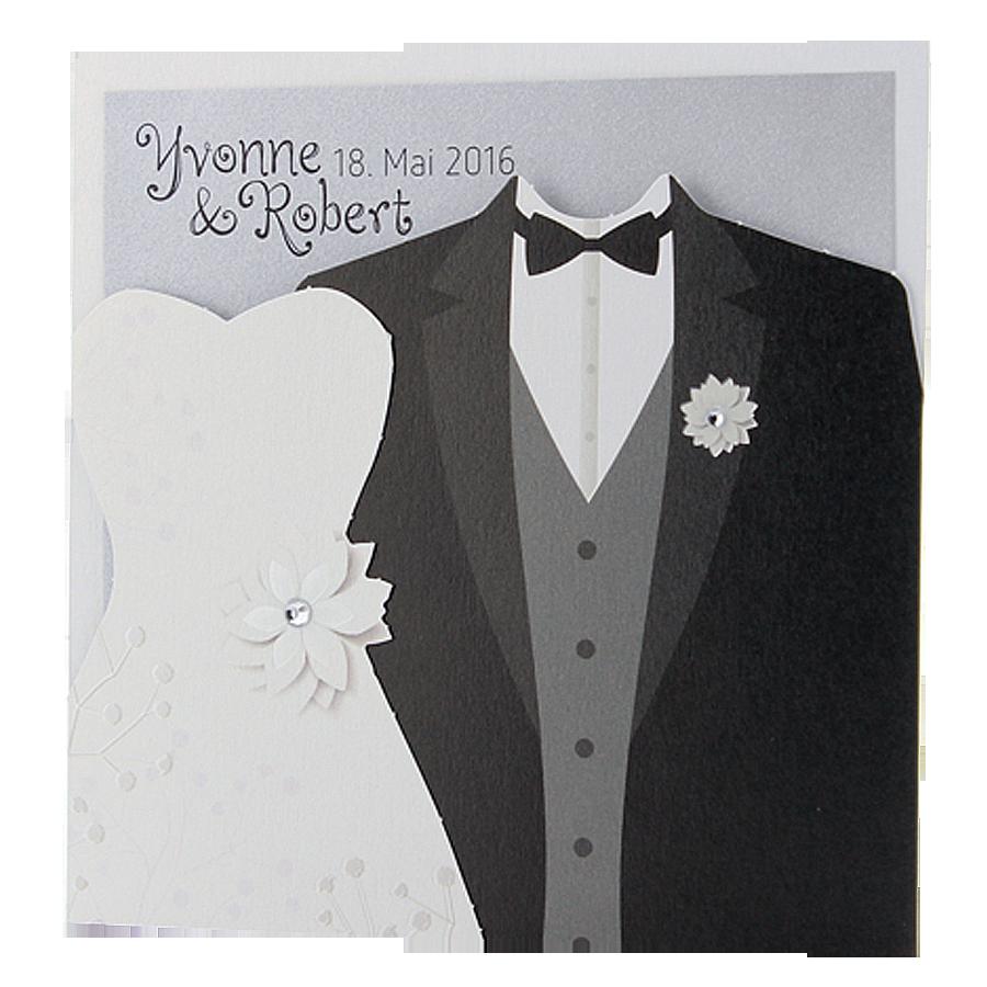 Hochzeitskarte Brautpaar Karte Hochzeit Hochzeitskarten Hochzeit