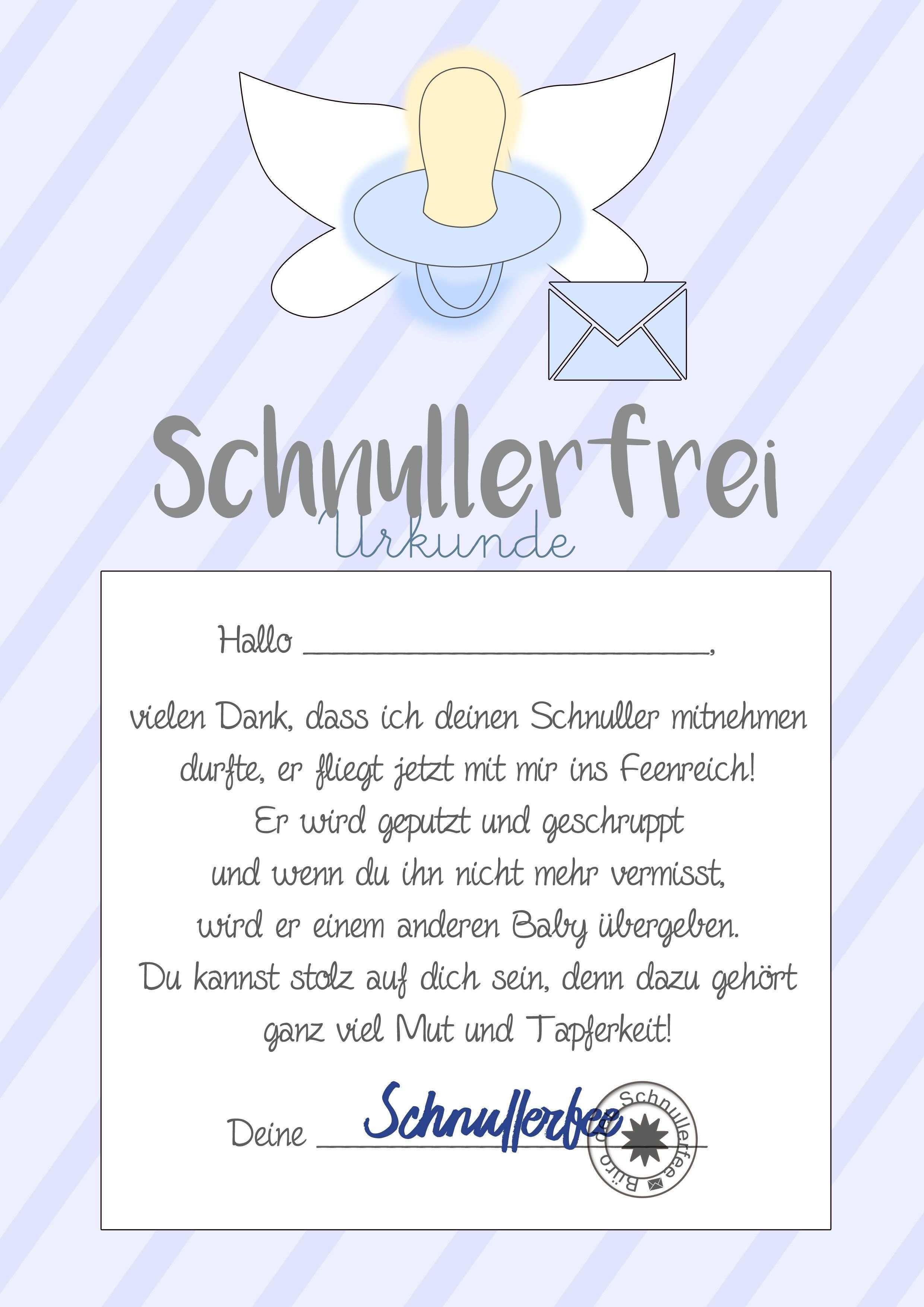 Schnullerfee Brief Vorlage Zum Ausdrucken In 2020 Kindergarten Portfolio Coloring Pages For Kids Kindergarten