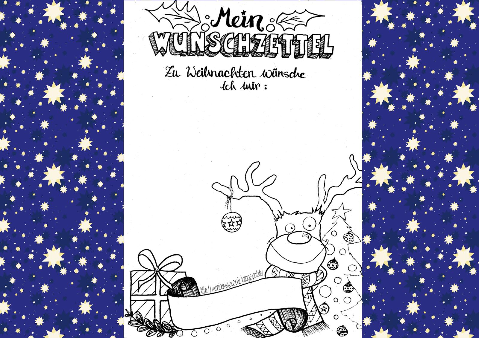 Freebie Weihnachts Wunschzettel Wunschzettel Brief Ans Christkind Weihnachtswunschliste