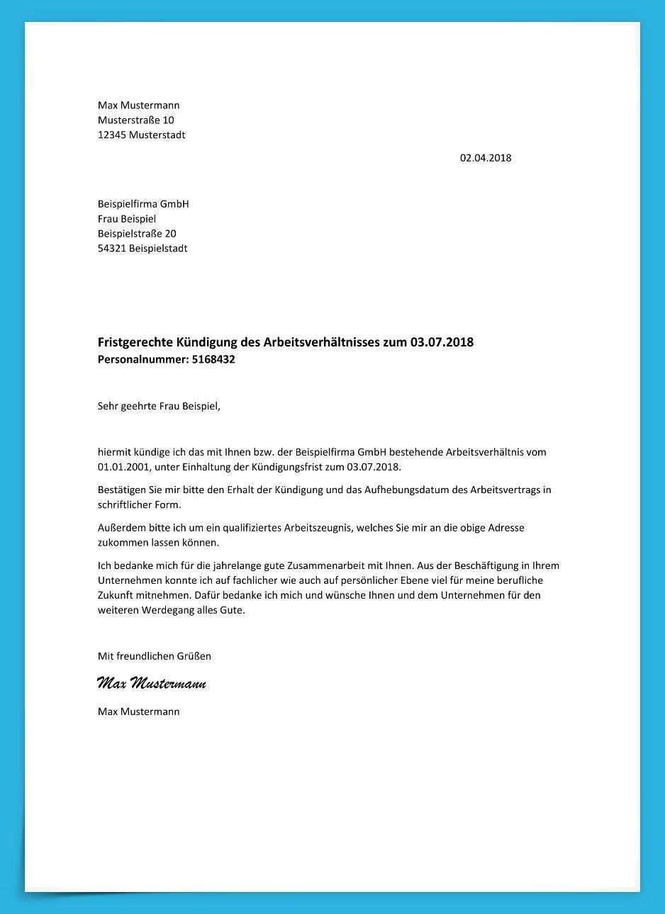 Detaillierte Arbeitsvertrag Kundigung Muster Demande D Emploi Dessin A Imprimer A Imprimer