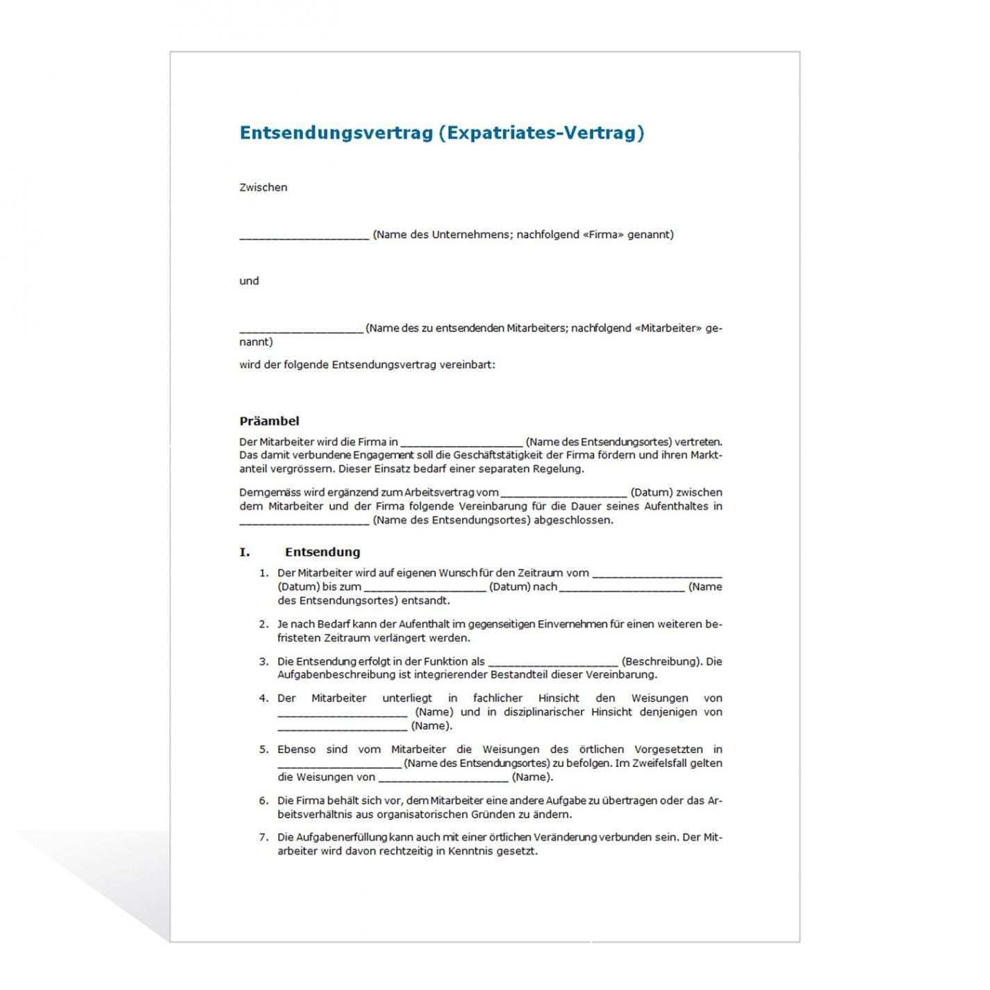 Blattern Unsere Das Image Von Vorlage Vereinbarung Unbezahlter Urlaub Vertrag Kundigen Vertrag Vorlagen