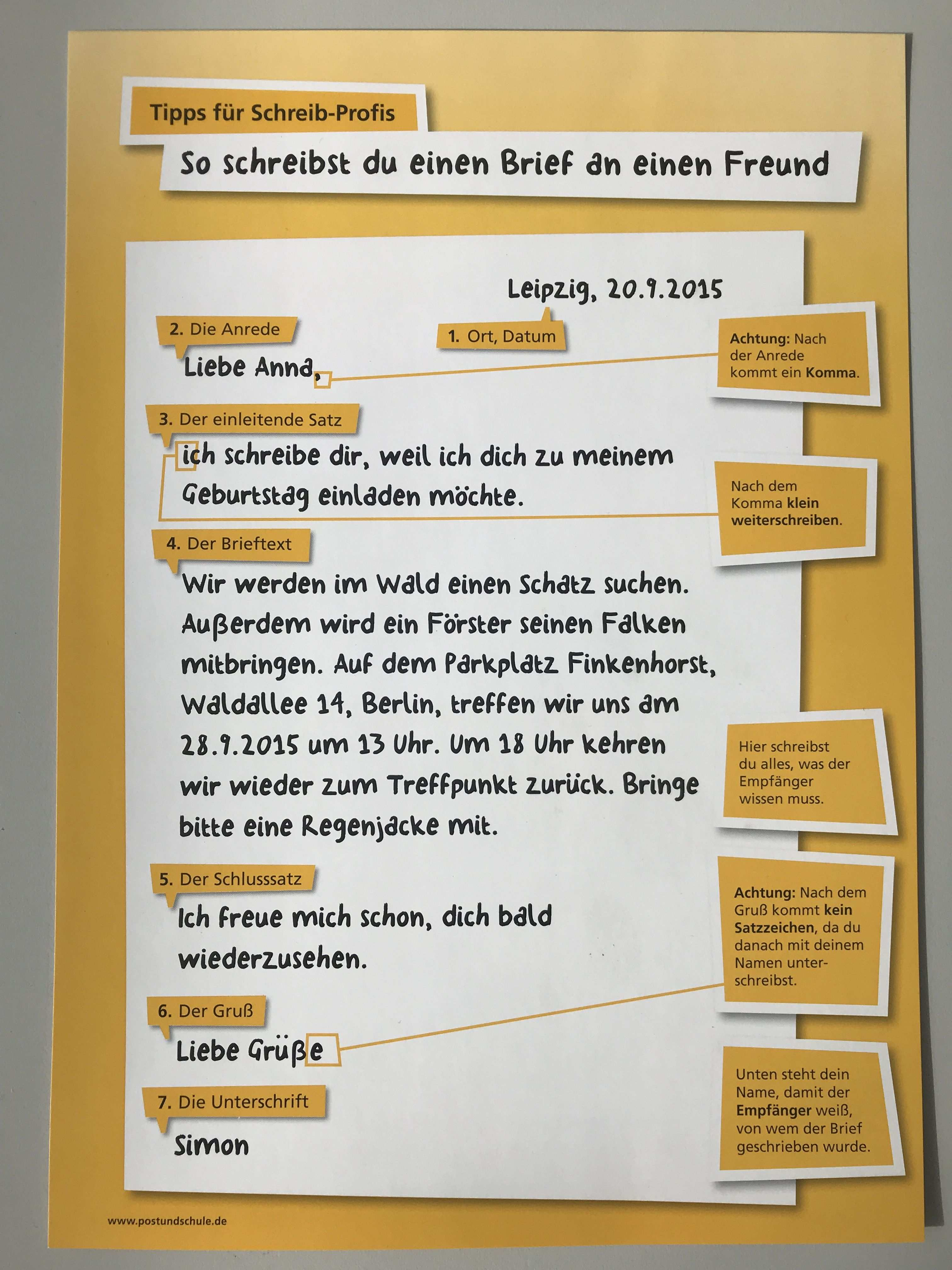 Briefe Grundschule Postundschule De Brief Schreiben Grundschule Grundschule Briefe