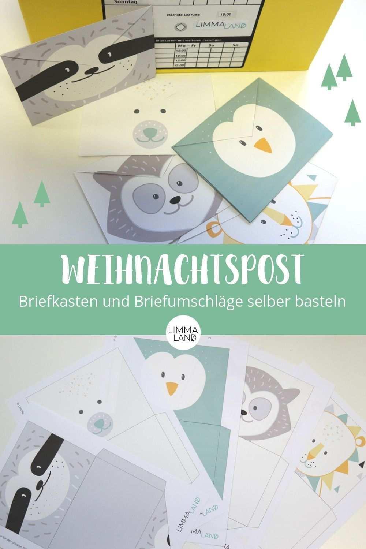 Kinderpost Selber Machen Inkl Bastelvorlage Fur Postkarten Briefumschlag Basteln Briefumschlag Selber Basteln Ideen Zum Selbermachen Fur Kinder