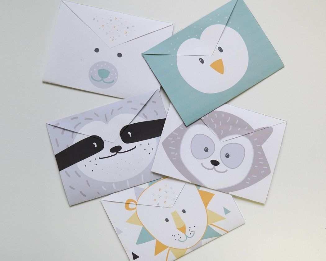 Kinderpost Selber Machen Inkl Bastelvorlage Fur Postkarten Briefumschlag Basteln Postkarten Selber Machen Bastelvorlagen