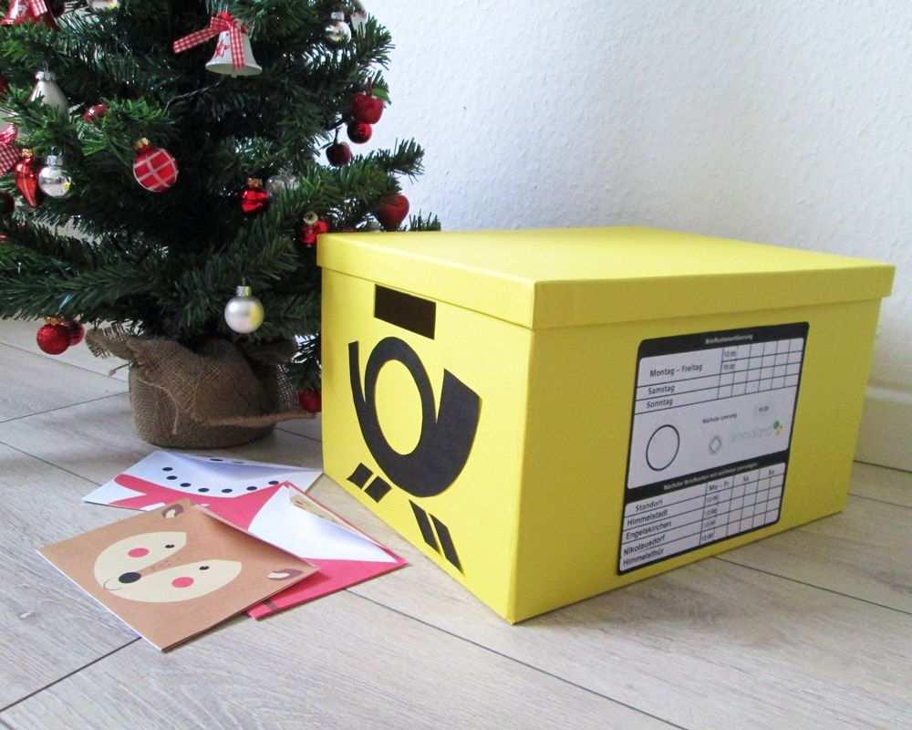 Kinderpost Selber Machen Inkl Bastelvorlage Fur Postkarten Kindergarten Weihnachten Postkarten Gestalten Bastelideen