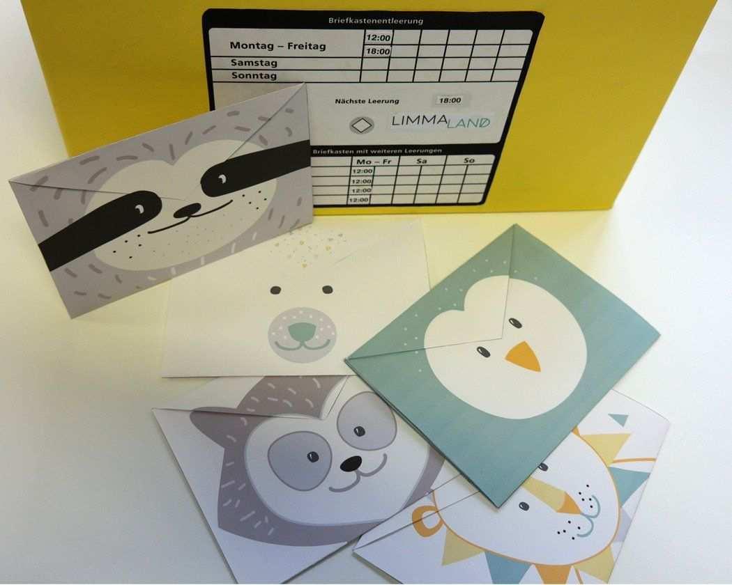 Kinderpost Selber Machen Inkl Bastelvorlage Fur Postkarten Postkarten Bastelvorlagen Basteln
