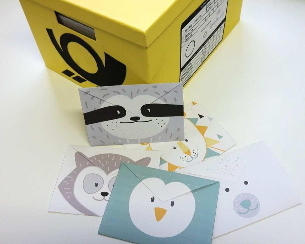 Kinderpost Selber Machen Inkl Bastelvorlage Fur Postkarten Basteln Baby Diy Kinder