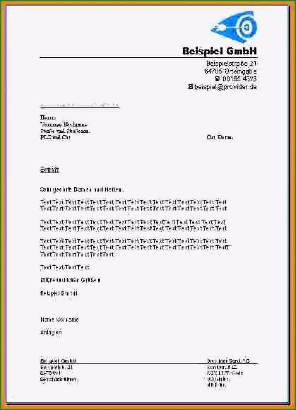 18 Erstaunlich Briefkopf Vorlage Briefkopf Vorlage Briefkopf Vorlagen