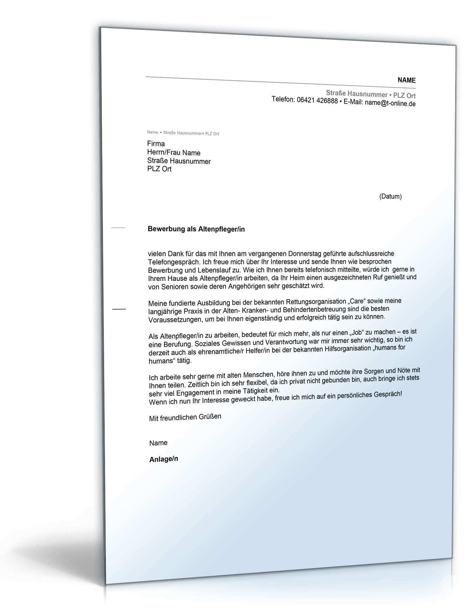 Anschreiben Bewerbung Altenpfleger Muster Zum Download Bewerbung Altenpfleger Altenpflegerin Muster In 2020 Good Resume Examples Resume Examples Resume Templates