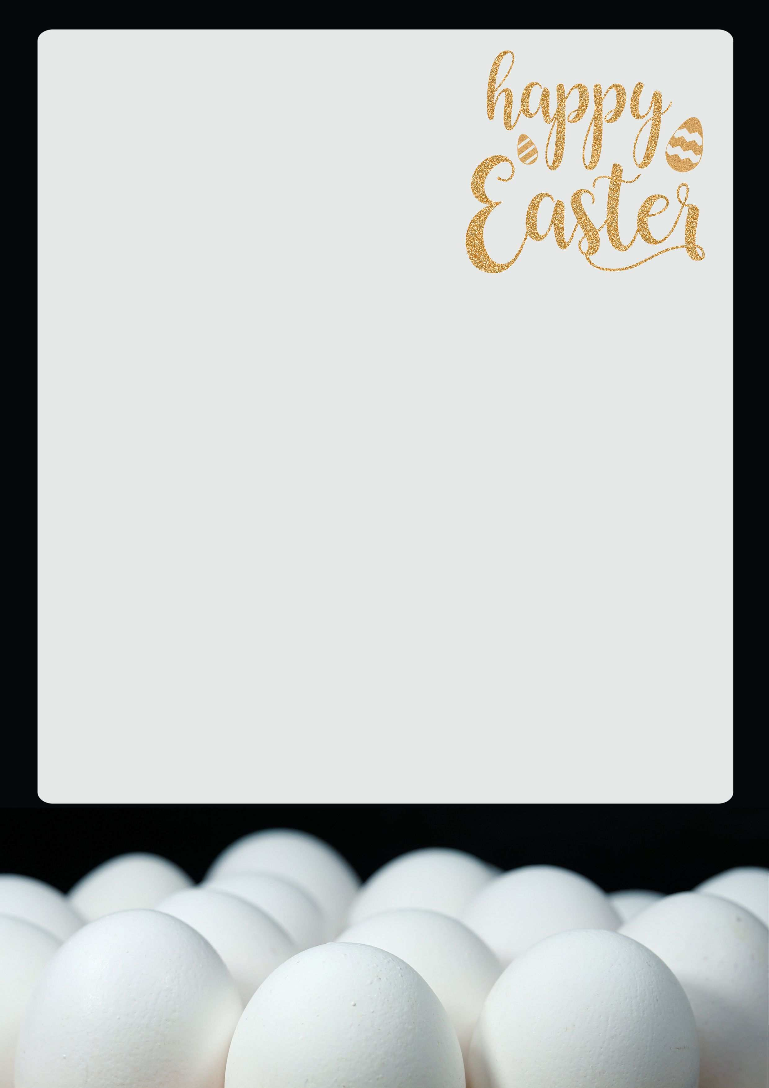 Briefpapier Ostern In 2020 Briefpapier Briefpapier Vorlage Briefpapier Zum Ausdrucken