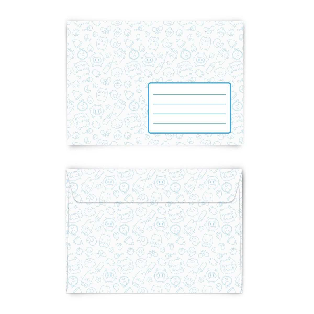 Suss Briefumschlag Din C6 Quer Briefumschlag Kreativ Papeterie Kinderparty Einladung Briefumschlag Umschlag Brief