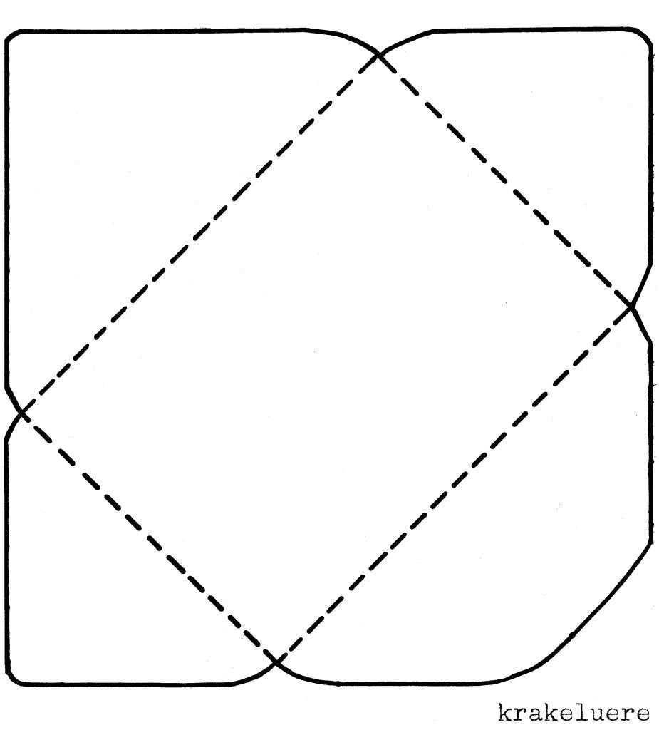Krakeluere De Briefumschlage Basteln Briefumschlag Basteln Umschlag Basteln Briefumschlag Basteln Vorlage