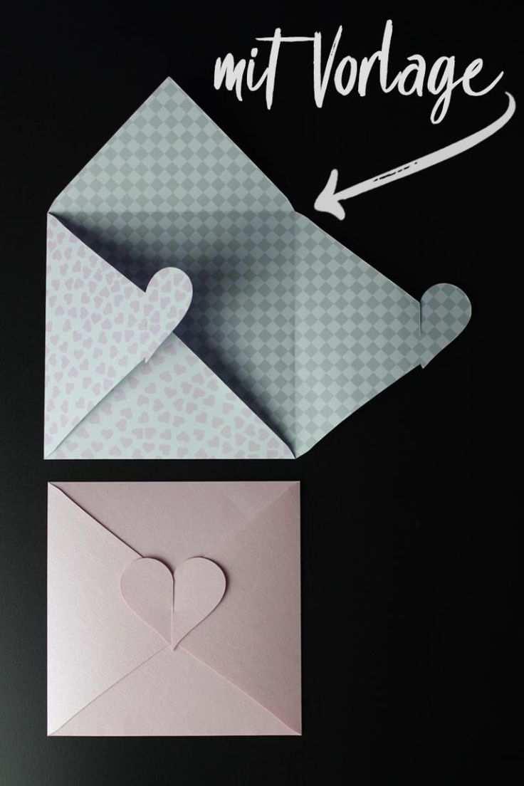 Kuvert Mit Herz Zur Hochzeit Bastelvorlage Plotterfreebie Kugelig Com Briefumschlag Basteln Geschenke Basteln Umschlag Basteln