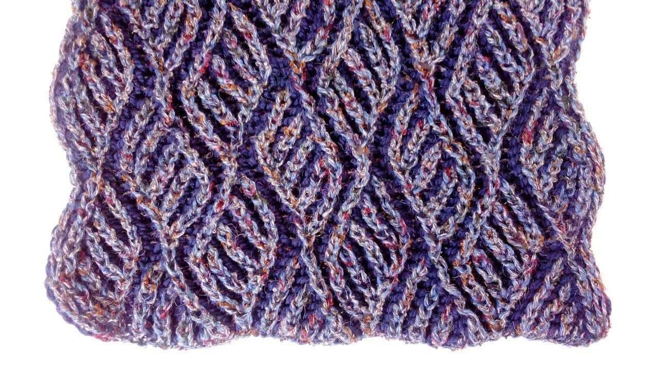 Brioche Knitting Diamonds Scarf Brioche Knitting Patterns 15 Stunning Knitted S Brioche Knitting Patterns Scarf Knitting Patterns Knitting Patterns Free Scarf