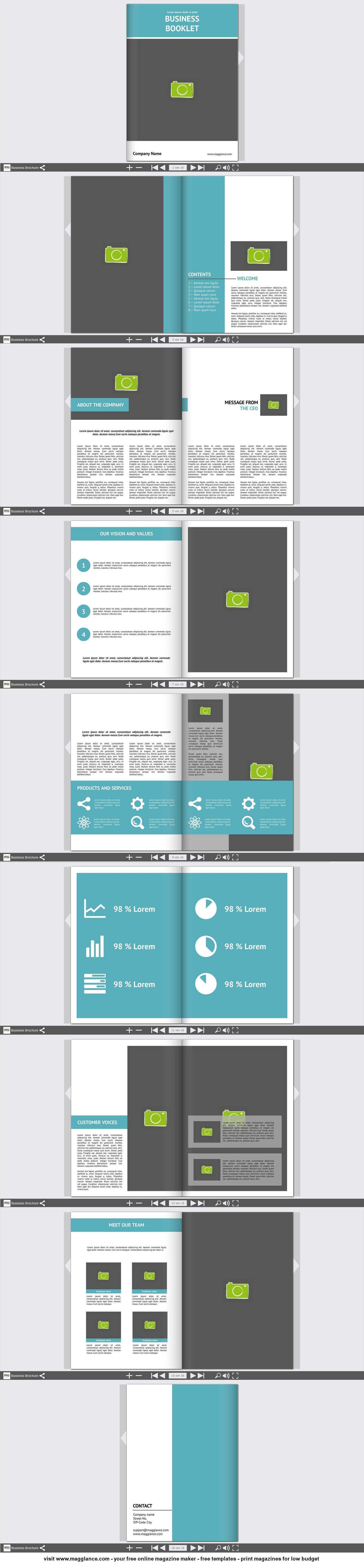 Business Broschure Kostenlos Online Erstellen Und Gunstig Drucken Unter Broschure Flyer Erstellen Bookletgestaltung