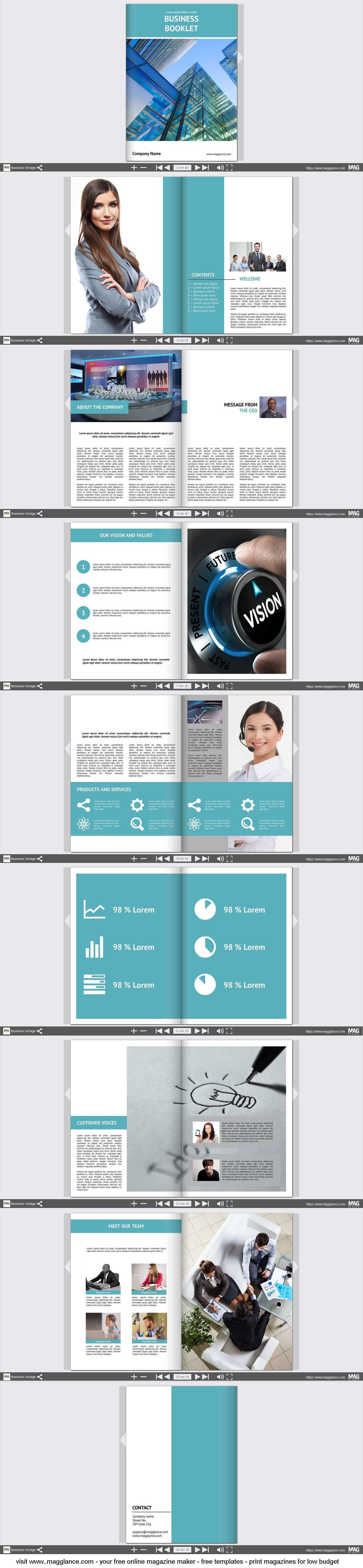 Business Broschure Kostenlos Online Erstellen Und Gunstig Drucken Unter Https De Magglance Com Magazine 43d79ae8 Broschure Vorlage Broschure Design Broschure