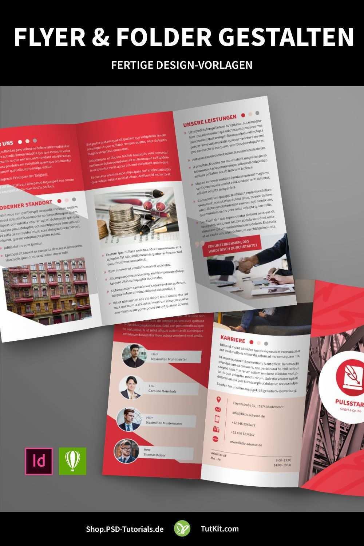 Flyer Und Folder Gestalten Fertige Design Vorlagen Herunterladen Flyer Gestalten Kreativer Flyer Flyer