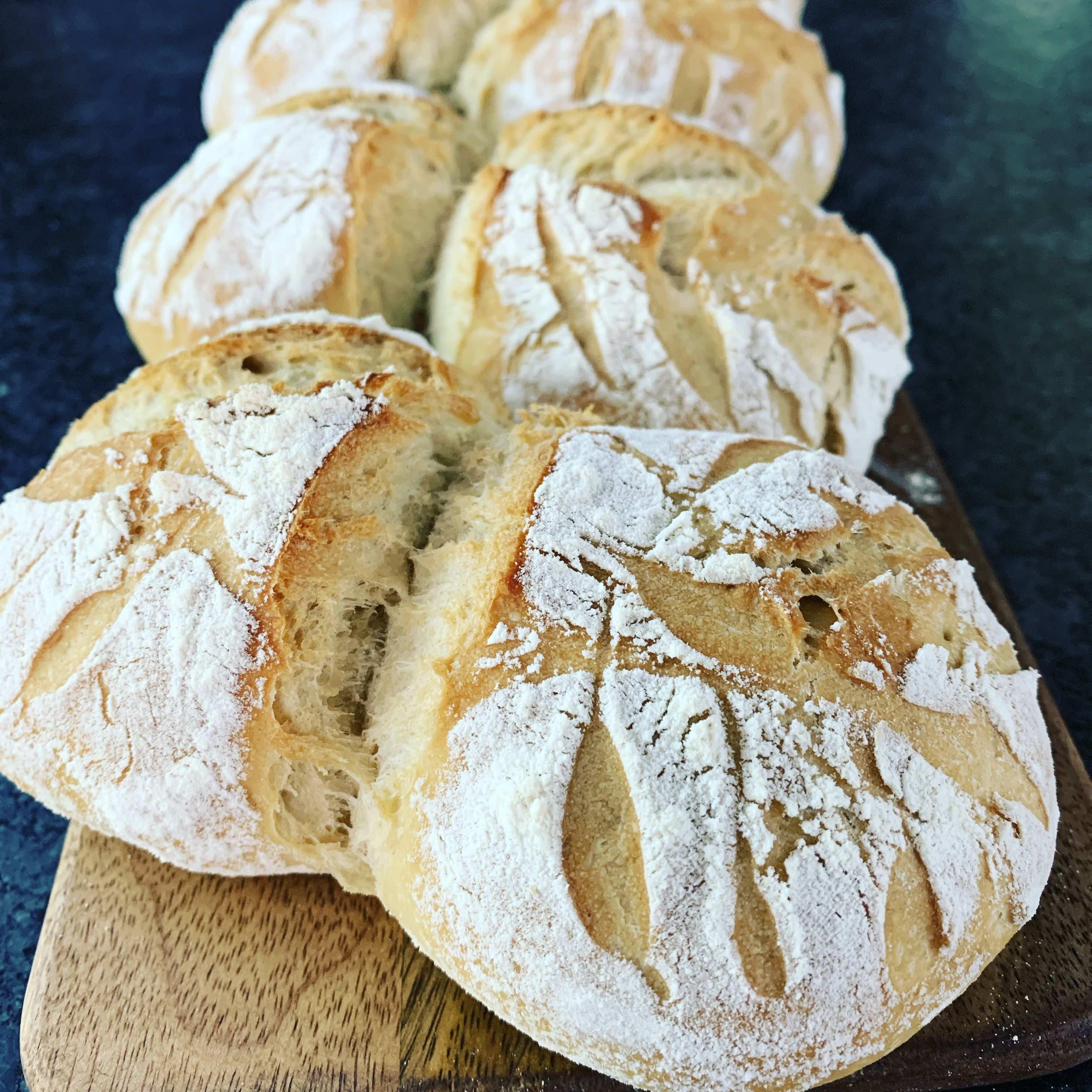 Brotchen Zwillinge Brot Backen Rezept Einfach Teig Kartoffelbrot